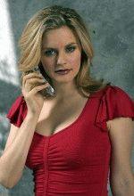 сексуальная Алисия Сильверстоун в красном платье