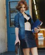сексуальная Элисон Ханниган голая в нижнем белье