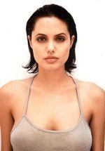 Анжелина Джоли и ее шикарная грудь сведет тебя с ума