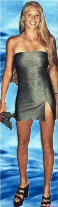 Анна Курникова в нижнем белье