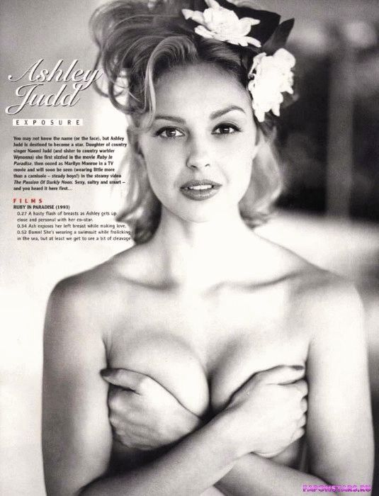 Ashley Judd / Эшли Джадд засвет обнаженка