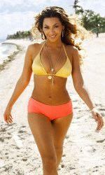 Бейонсе в нижнем белье на пляже