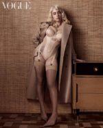 Билли Айлиш голая журнал вог эротика