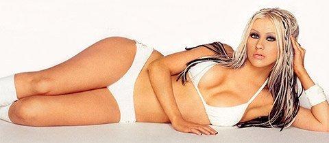 Christina Aguilera / Кристина Агилера голая обнаженная фото
