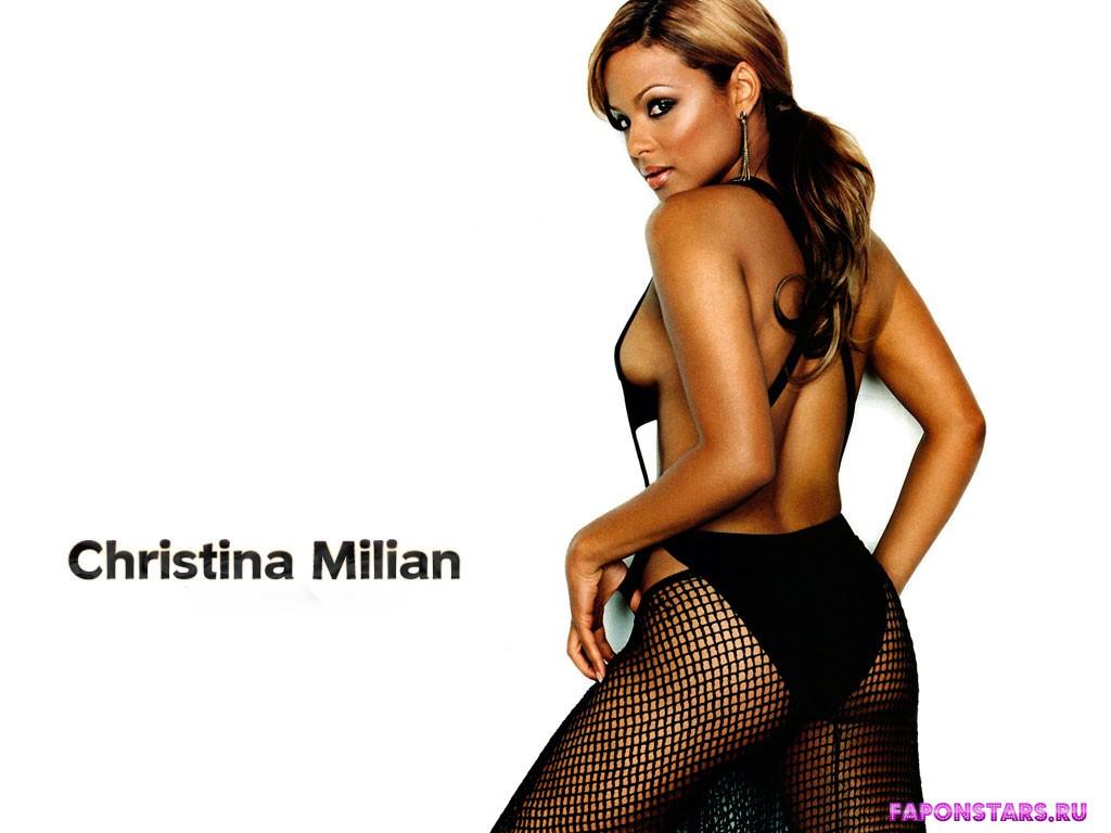 christina milian naked