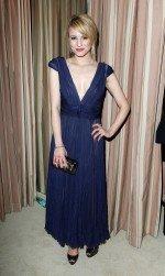 сексуальная Дианна Агрон в вечернем платье