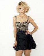 сексапильная Дианна Агрон в открытом платье с вырезом декольте