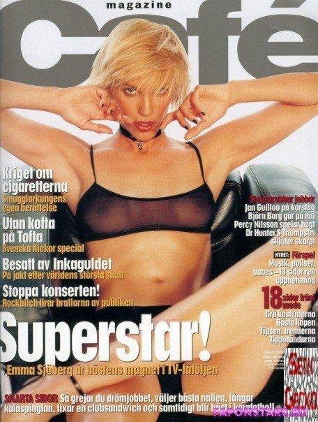 Emma Sjoberg (Wiklund) / Эмма Сьоберг (Виклунд) фото полуголая секси