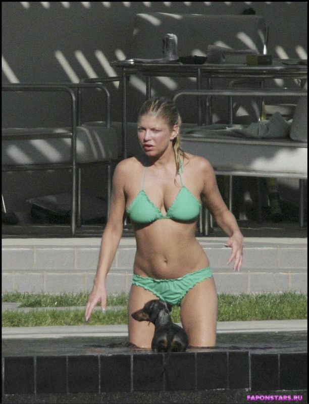 Fergie / Ферги неудачное фото