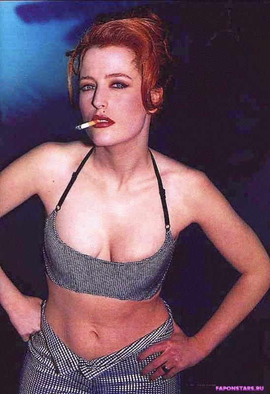 Gillian Anderson / Джиллиан Андерсон фото полуголая секси