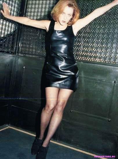 Gillian Anderson / Джиллиан Андерсон фотосессия в playboy