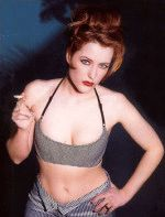 Gillian Anderson / Джиллиан Андерсон голая обнаженная сексуальная декольте