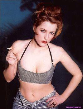 Gillian Anderson / Джиллиан Андерсон интимное фото