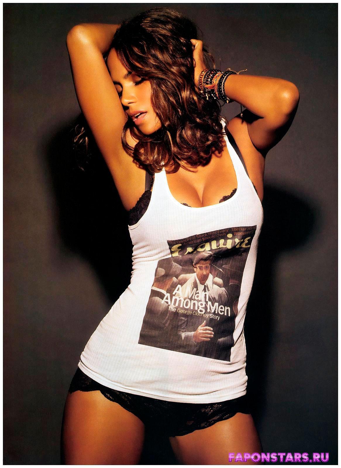 Halle Berry / Хэлли Берри фотосессия в эротическом журнале