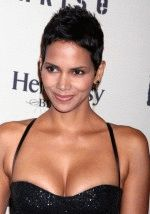 Halle Berry sexy cleavage