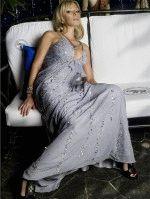 белое восхитительное платье Ирины Салтыковой очень сексульно и обворожительно