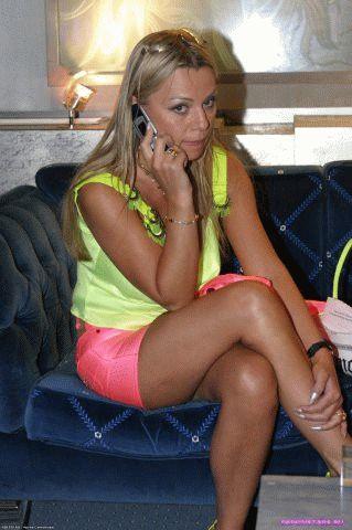 Ирина Салтыкова в нижнем белье