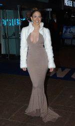 сексуальная Джей Ло явилась на церемонию наград в откровенном прикиде