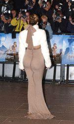 Дженнифер Лопес и ее шикарная задница, фото вид сзади