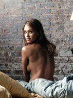 Jessica Alba / Джессика Альба голая обнаженная сексуальная декольте