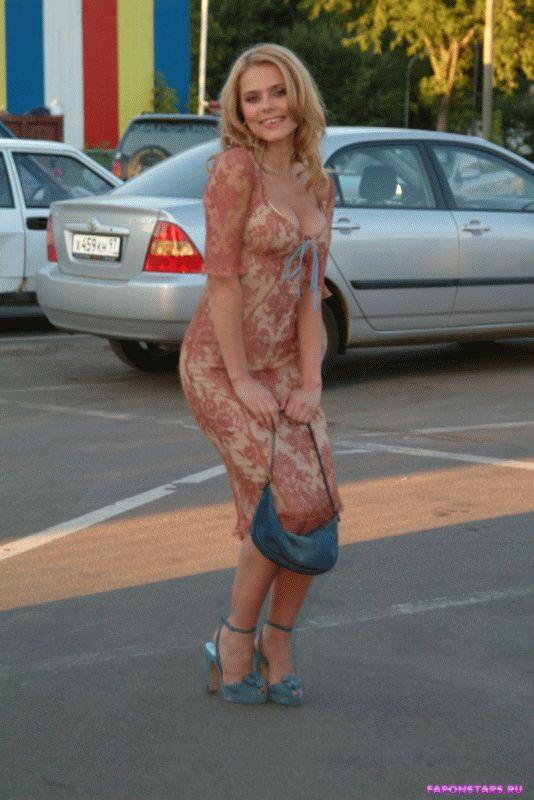 Ксения Новикова в нижнем белье