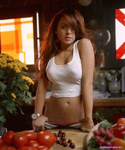 Lindsay Lohan / Линдси Лохан засвет обнаженка
