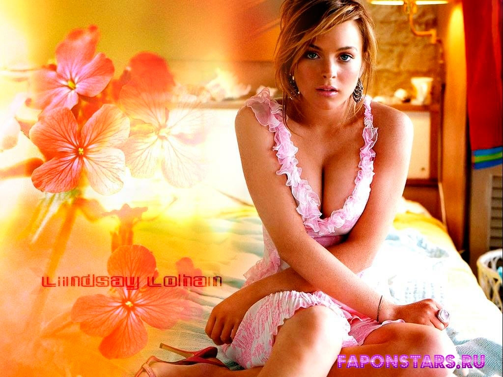 Lindsay Lohan / Линдси Лохан в дорогом красивом платье