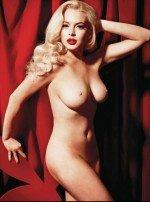 Линдсей лохан голая в образе Мерилин Монро для журнала плейбой