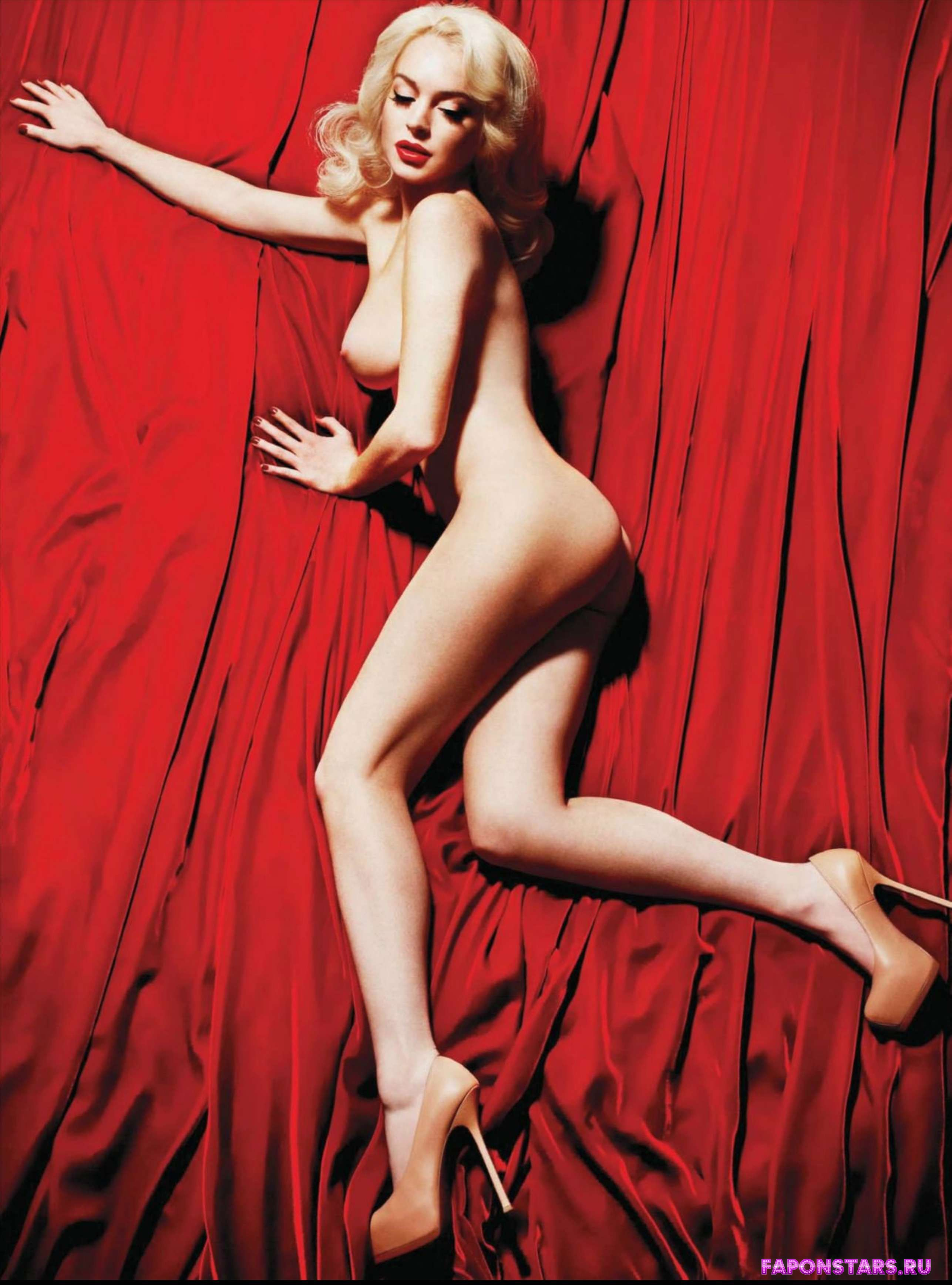 сексуальная Линдсей Лохан снялась обнаженной для эротического журнала playboy