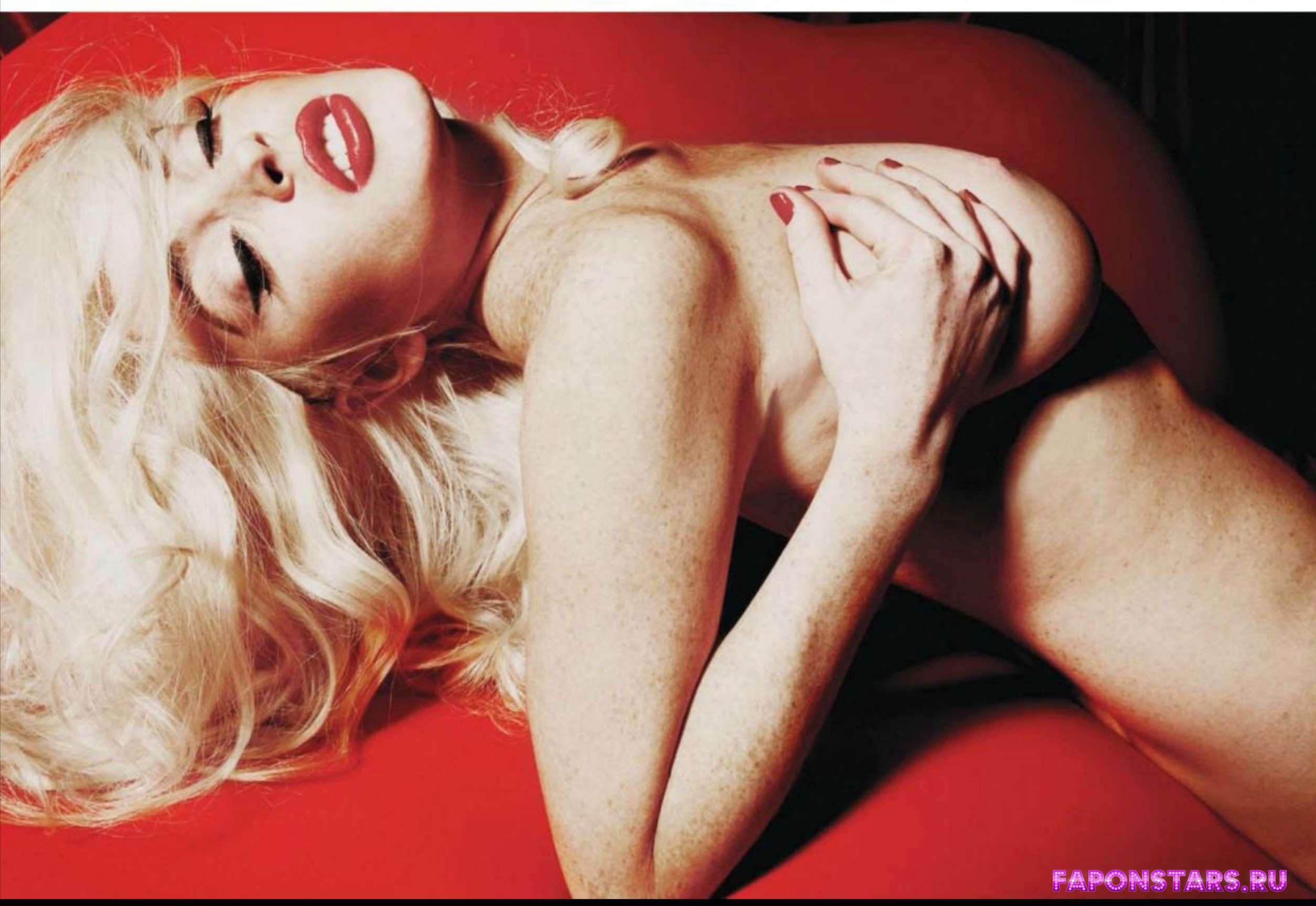 фото голой Линдсей Лохан для эротического журнала Плейбой