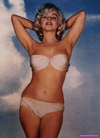 Marilyn Monroe / Мэрилин Монро на сцене