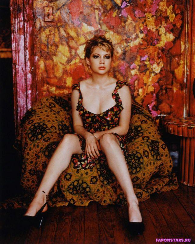 Michelle Williams / Мишель Уильямс фотосессия в эротическом журнале