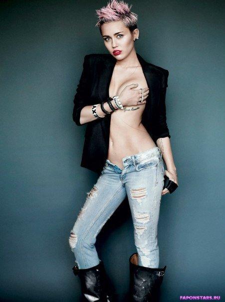Miley Cyrus / Майли Сайрус обнаженная фото