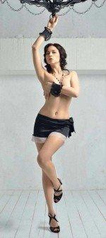 Настасья Самбурская голая обнаженная сексуальная декольте