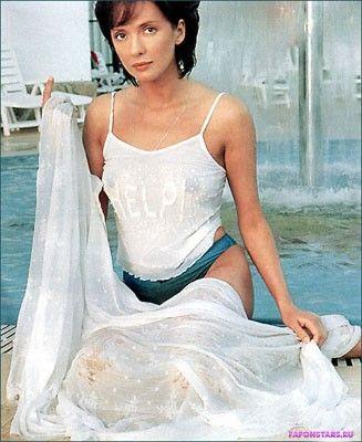 Ольга Дроздова в шикарном сексуальном белом платье