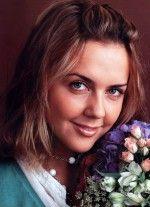 Ольга Шелест с цветами