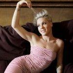 Pink / Пинк голая обнаженная сексуальная декольте