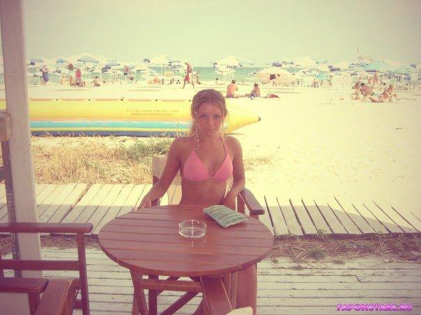 Полина Филоненко в нижнем белье