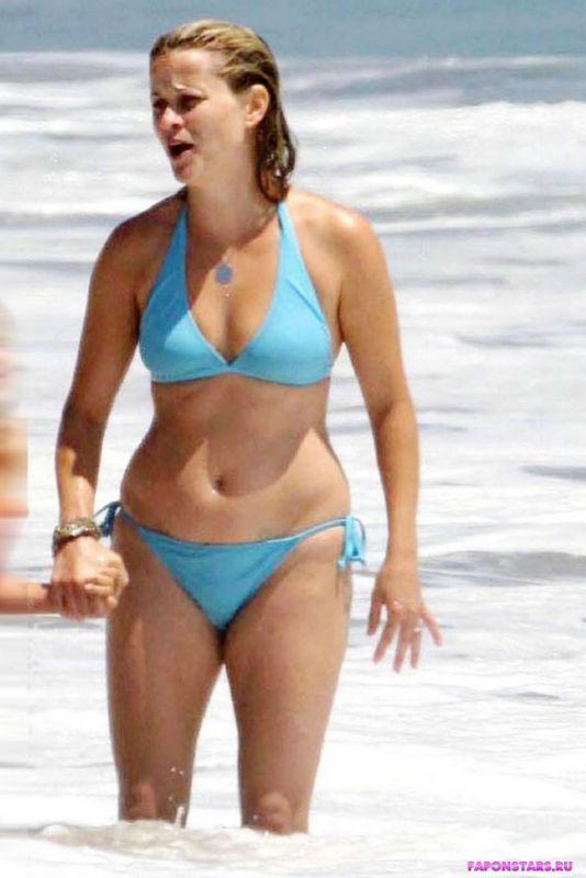 Pink reese bikini witherspoon
