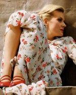 Рената Литвинова в пижаме