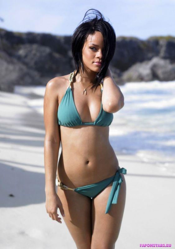 Naked girl in desert