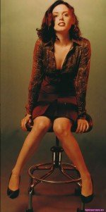 Rose McGowan / Роуз Макгоуэн голая обнаженная сексуальная декольте