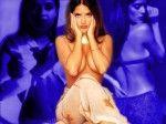 Salma Hayek / Сальма Хайек голая обнаженная сексуальная декольте