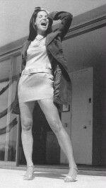 черно-белое фото сексуальной Сандры Буллок