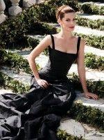 Сандра Буллок в элегантном черном платье