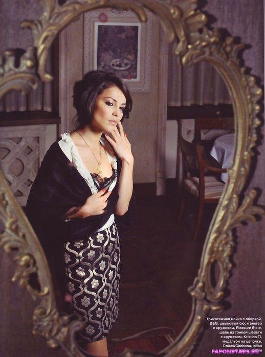 Сати Казанова фотосессия в эротическом журнале