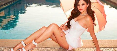 Selena Gomez / Селена Гомес голая обнаженная фото