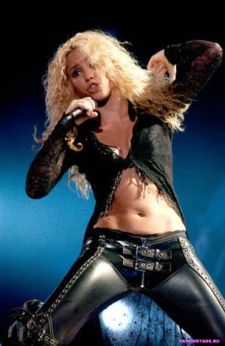 Shakira / Шакира на пляже