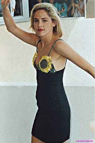 Sharon Stone / Шэрон Стоун в дорогом красивом платье