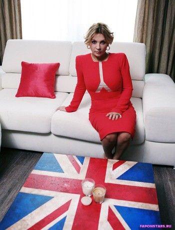 Светлана Назаренко и флаг англии